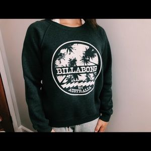 Charcoal grey billabong crewneck